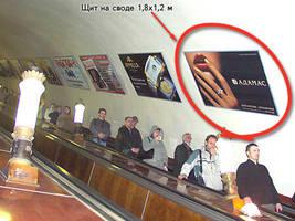 реклама в метро